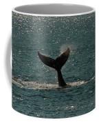 Humpback Whale Lifts Its Fluke. I Coffee Mug