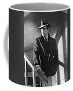 Humphrey Bogart Stairs The Maltese Facon 1941  Coffee Mug