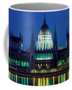 Hungarian Parliament Building Coffee Mug