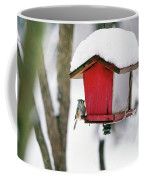 A Hungry Chickadee Coffee Mug