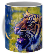 Portrait Of A  Tiger Coffee Mug