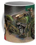 Hunter Green Indian Motorcycle...   # Coffee Mug