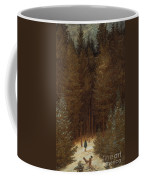 Hunter In The Forest  Coffee Mug