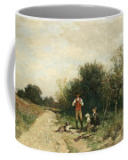 Hunters Taking A Break Coffee Mug