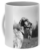 Hunting Dog With Quail, C.1920s Coffee Mug