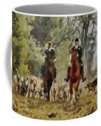 Hunting Dogs For Wild Boar Coffee Mug