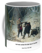 Hunting For Wild Boar Coffee Mug
