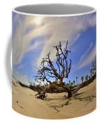 Hunting Island Beach And Driftwood Coffee Mug