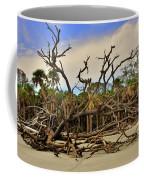 Hunting Island Driftwood Beach Beaufort Sc Coffee Mug