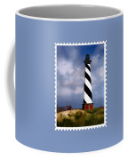 Hurricane Coming At Cape Hatteras Lighthouse Coffee Mug