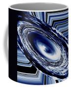 Hurricane In Space Abstract Coffee Mug
