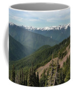 Hurricane Ridge View Coffee Mug