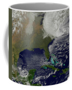 Hurricane Sandy Battering The United Coffee Mug