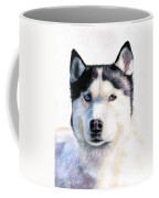 Husky Blue Coffee Mug