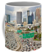 Hustle And Bustle On The Highways And Byways Coffee Mug
