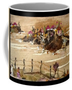 Huts And Temples On Hills Coffee Mug