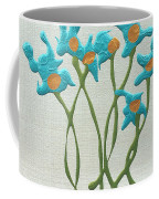 Bla Blomst Coffee Mug