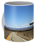 Hwy 142 Heading To San Luis Coffee Mug