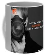 Hyderabad Camera Rentals Coffee Mug