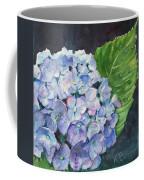 Hydrangea And Water Droplet Coffee Mug