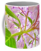 Hydrangea Flower Inside Floral Art Prints Baslee Troutman Coffee Mug