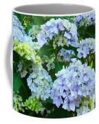 Hydrangea Garden Landscape Flower Art Prints Baslee Troutman Coffee Mug