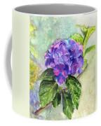 Hydrangea On Clayboard Coffee Mug