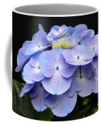 Hydrangeas In Purple Coffee Mug