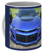 Hyper Blue Metallic 2017 Chevrolet Camaro Zl1 Coffee Mug