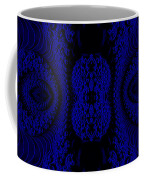 Hyper Tidal Blue Coffee Mug