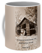 I Have Seen Better Days Psalm 147 3 Sepia Coffee Mug