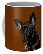 I Hear Ya - Dog Painting Coffee Mug