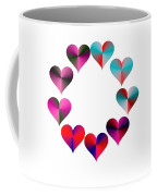 I Heart Rainbows Coffee Mug