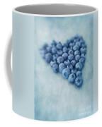 I Love Blueberries Coffee Mug by Priska Wettstein