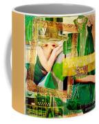 I Love Green Coffee Mug