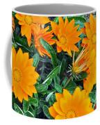 I Love Orange Flowers Coffee Mug