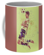 I Love Soccer Coffee Mug