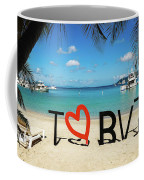 I Love The Bvi Coffee Mug