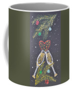 I Love You Coffee Mug by Georgeta  Blanaru