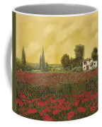 I Papaveri E La Calda Estate Coffee Mug by Guido Borelli