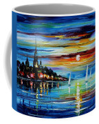 I Saw A Dream - Palette Knife Oil Painting On Canvas By Leonid Afremov Coffee Mug