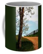 I Walk The Gravel Road Coffee Mug