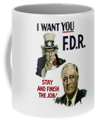 I Want You Fdr  Coffee Mug