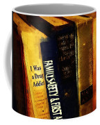 I Was A Drug Addict And Other Great Literature Coffee Mug