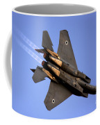 Iaf F15i Fighter Jet On Blue Sky Coffee Mug