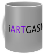 iARTGASM black Coffee Mug