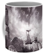 Ibex -the Wild Mountain Goats In The El Torcal Mountains Spain Coffee Mug