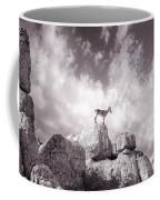 Ibex -the Wild Mountain Goats In The El Torcal Mountains Spain Coffee Mug