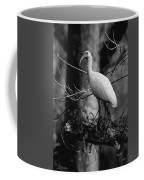 Ibis In Black And White  Coffee Mug