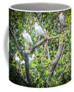 Ibises In A Tree Coffee Mug